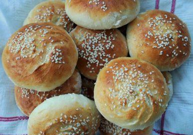 Glutenfria hamburgerbröd