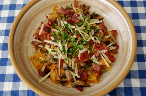 Tortellini med tomatpesto