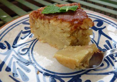 Riven äppelkaka